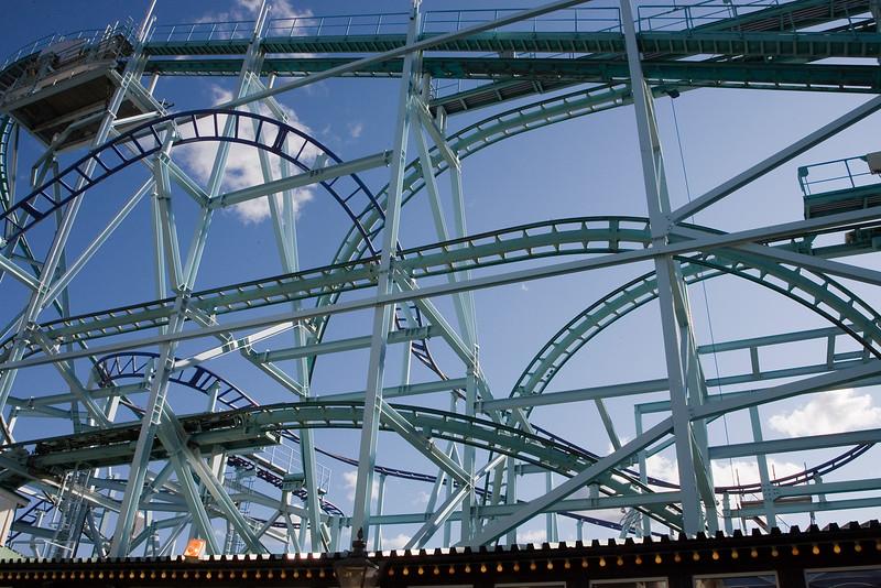 Amusement park Gröna Lund, founded 1883, Djurgården Stockholm