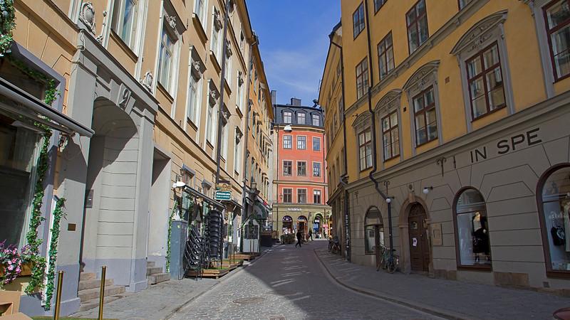 Triewaldsgränd Old town Stockholm