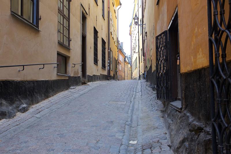 Prästgatan, street in old town Stockholm