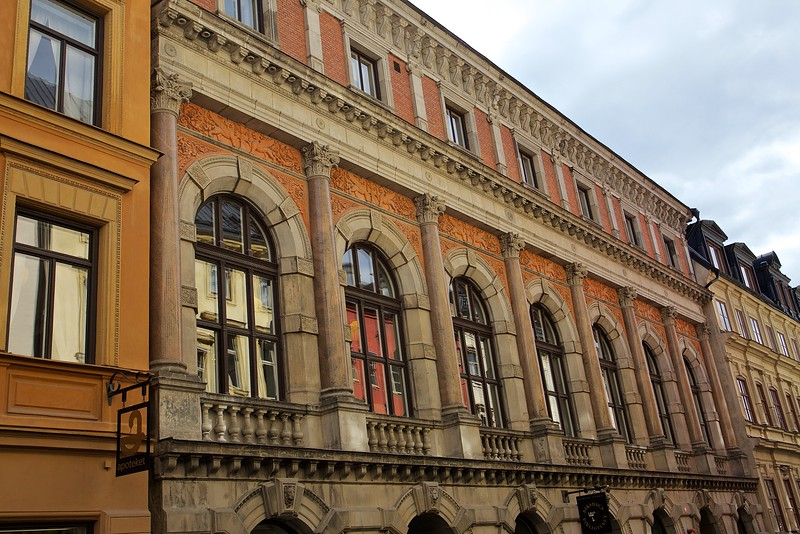 Riksdags biblioteket Storkyrkobrinken, Old town  Stockholm