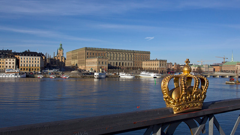 Storkyrkan and the Royal Palace Stockholm