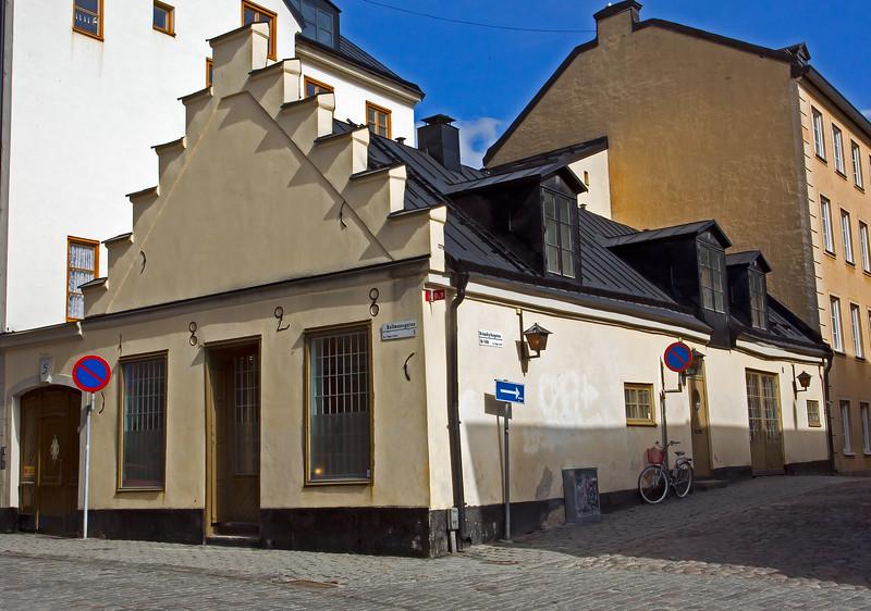 1828 - Bellmansgatan / Brännkyrkagatan Södermalm