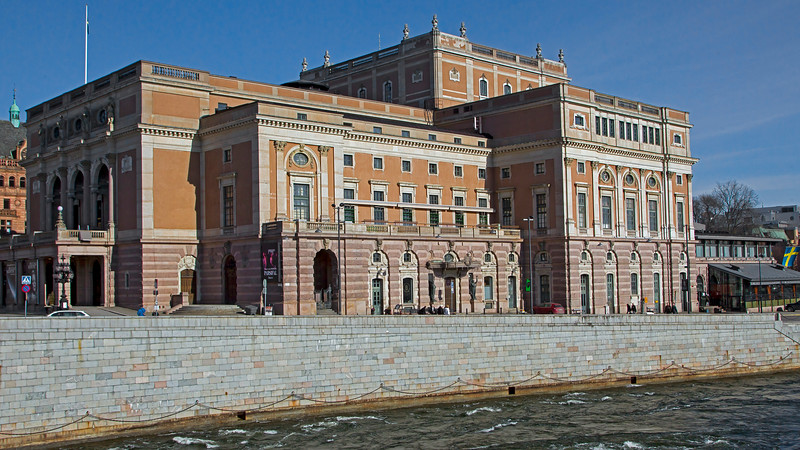 Royal Opera house since 18 Jan 1773, Stockholm