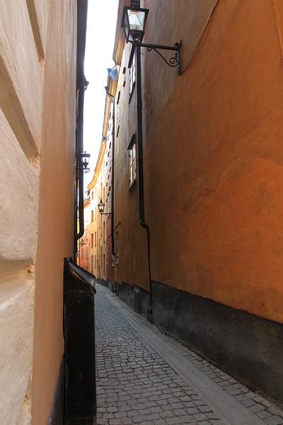 Narrow street, Old Town Stockholm