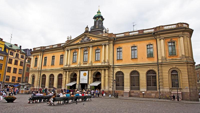 Stockholm stock exchange 1776 - 1998, since 2001 Nobel museum