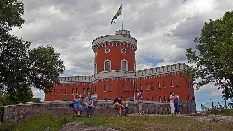 Castle on Kastellholmen 1848 Stockholm