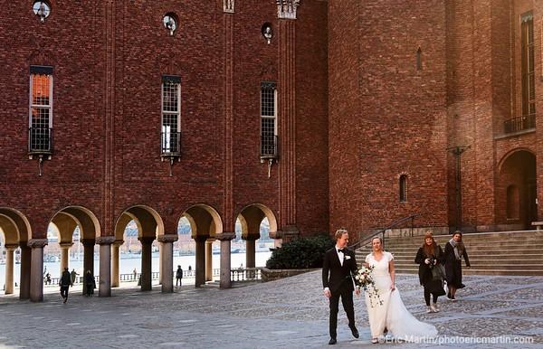 STOCKHOLM AU TEMPS DU COVID 19. ALORS QUE TOUTE L EUROPE SE CONFINE, STOCKHOLM CHOISIT DE RESTER UNE VILLE OUVERTE. Hôtel de ville de Stockholm
