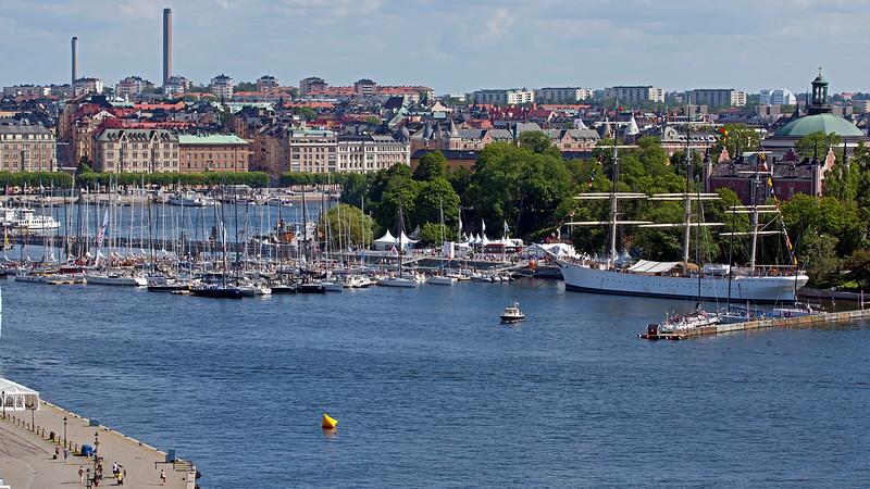 Sailing ship, Stockholm