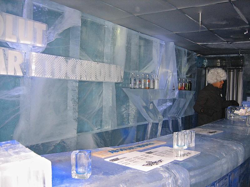 Ice bar, Stockholm