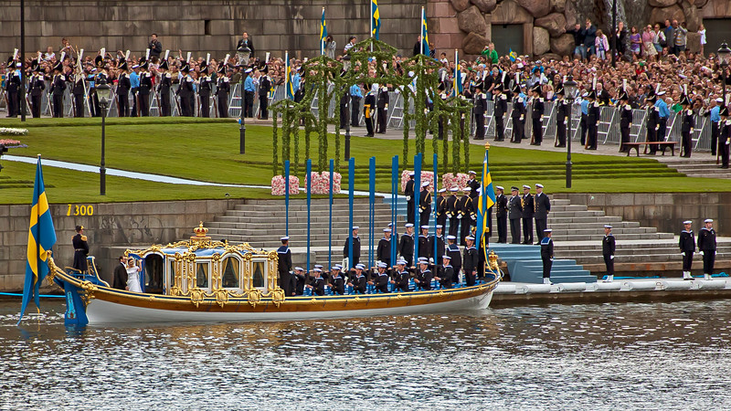 Victoria, Crown Princess of Sweden and Prince Daniel