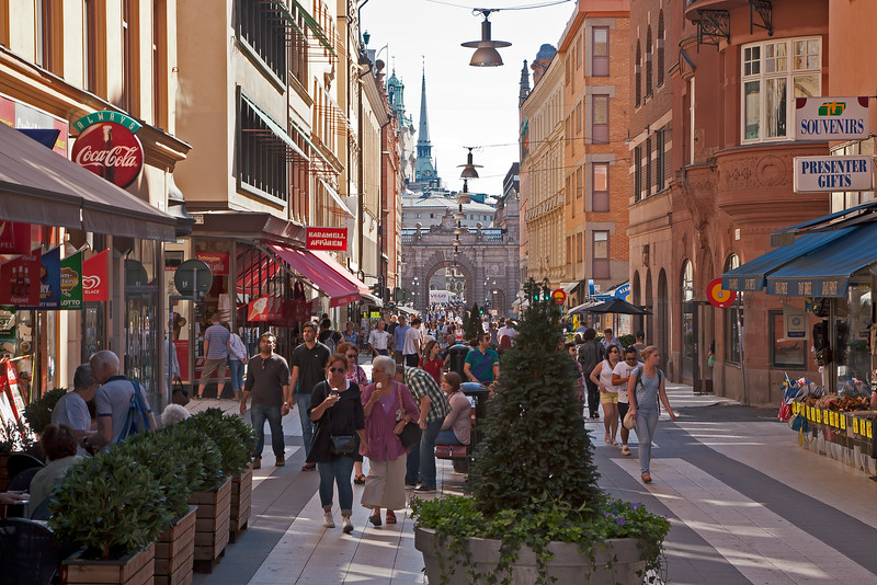 Drottninggatan Stockholm