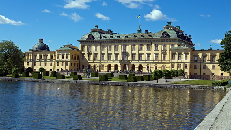 Drottningholm Royal palace built 1662 - 1750