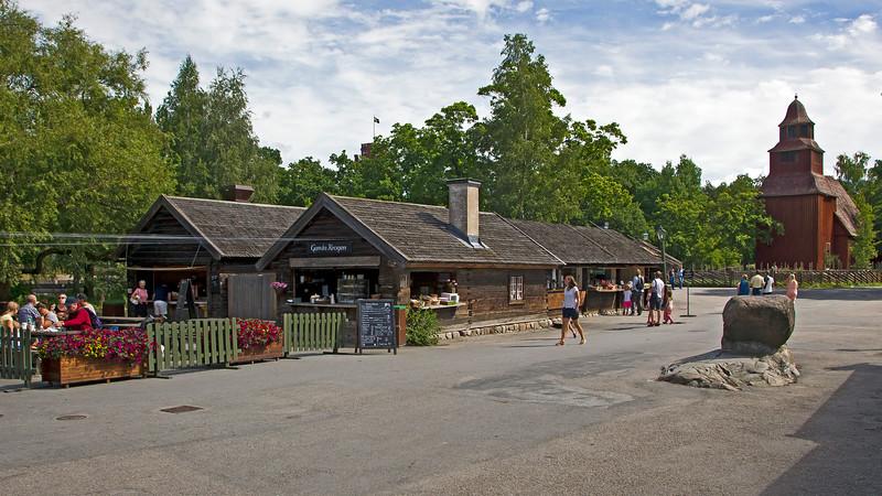 Bollnästorget. Skansen, open-air museum and zoo since 1891, Djurgården Stockholm
