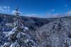 Blackwater gorge in winter