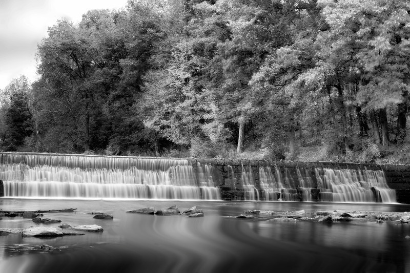 Water flowing over dam in Bruceton Mill, WV ..................................................................Prints or digital files can be purchased by e mailing DFriend150@gmail.com