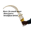 Beer so much more than just a breakfast drink