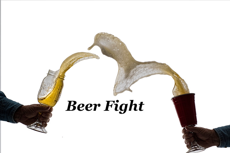 Beer fight