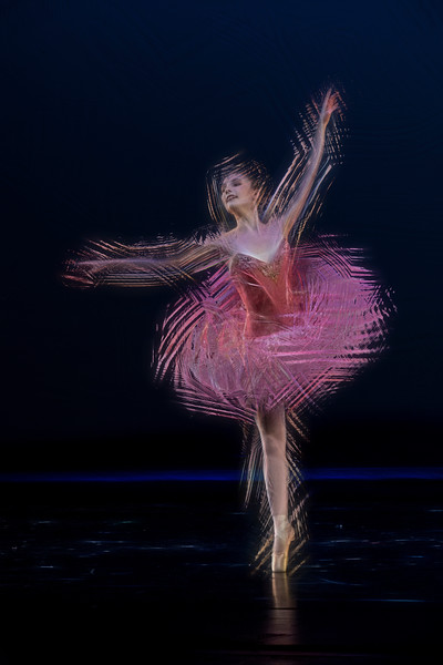 Pink dancer  - paintography