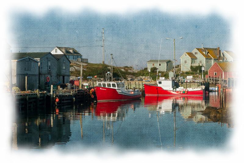 Fishing village at Peggys Cove