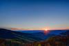 Sunset near Romney West Virginia