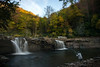 Fishing High Falls on the shaver fork River
