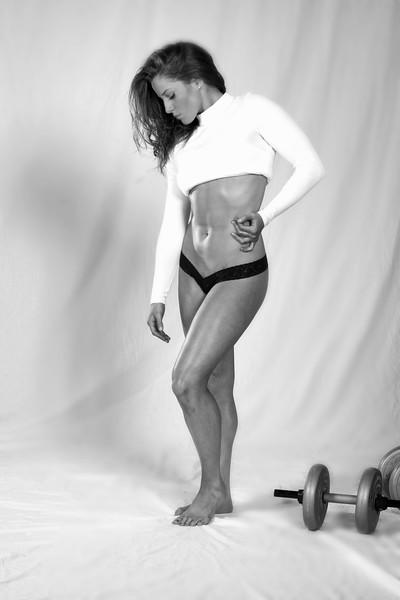 Ileana workout and modeling