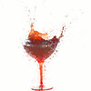 shaking wine