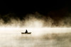 Solitary boat on the water