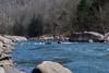 Kayaking on Cheat River at the Narrows Calamity Rapid