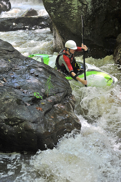 Kayaking on Deckers Creek