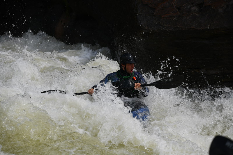 Kayaking and rafting on the Gauley River