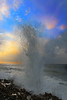 Blow hole Grand Caymans in morning.............................To purchase digital file or purchase print e mail - DFriend150@gmail.com