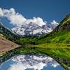 Colorado mountain relection