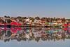 Lundenburg harbor in Nova Scotia reflection