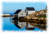 Fishing houses at Peggys cove