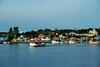Fishing village coast of Canada