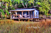 "crab shack in low country<br /> <br />  Order framed, metal, acrylic print, canvas, fine art print, photo print at this website - <br /> <a href=""http://fineartamerica.com/featured/low-country-crab-shack-dan-friend.html"">http://fineartamerica.com/featured/low-country-crab-shack-dan-friend.html</a>"