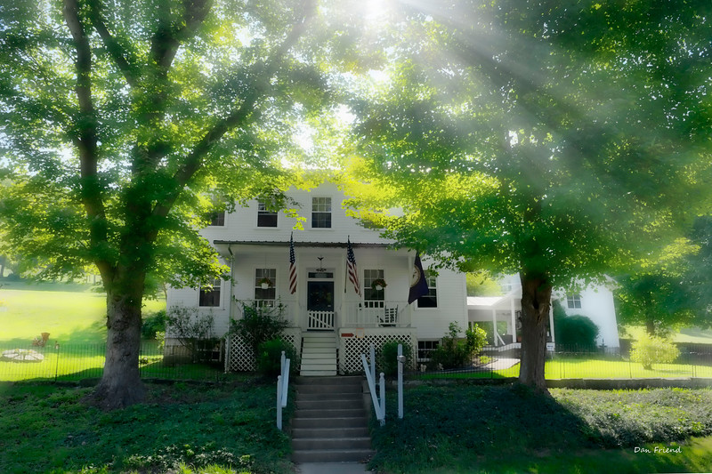 Anna Jarvis house in Grafton WV