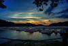 Sunset on Chealt Lake
