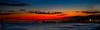 Ventura pier bright sunset
