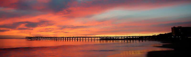 """Sunset at Ventura Pier  to purchase - <a href=""""http://dan-friend.artistwebsites.com/featured/1-sunset-at-ventura-pier-dan-friend.html?newartwork=true"""">http://dan-friend.artistwebsites.com/featured/1-sunset-at-ventura-pier-dan-friend.html?newartwork=true</a>"""