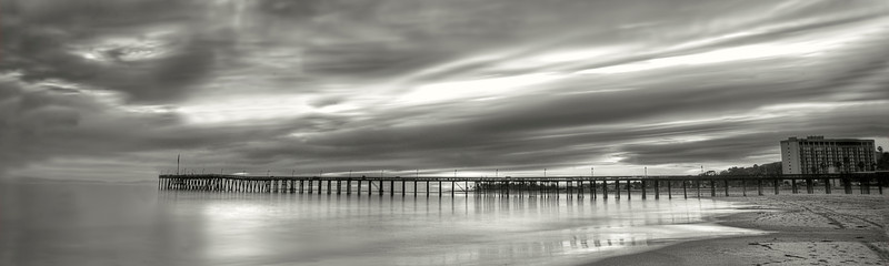 """Sunset pier black and white.....................to purchase - <a href=""""http://bit.ly/VhlMk8"""">http://bit.ly/VhlMk8</a>"""