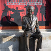 Statue of Don Knotts, the actor, in his hometown of Morgantown, WV