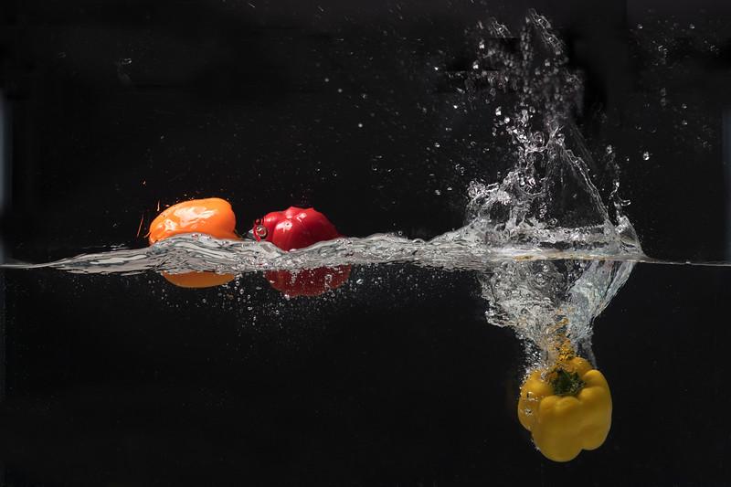Yellow pepper down