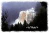 """Blackwater Falls Scenic<br /> <br /> Framed, metal, canvas order at this website - <a href=""""http://fineartamerica.com/featured/blackwater-falls-scenic-dan-friend.html"""">http://fineartamerica.com/featured/blackwater-falls-scenic-dan-friend.html</a>                                                             .............................................pixel paintography"""