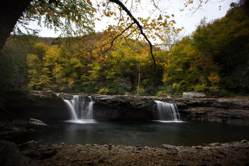 HIgh Falls on the Shaver Fork River