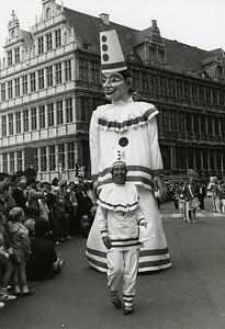Openingsstoet, Sint-Baafsplein, 1988.