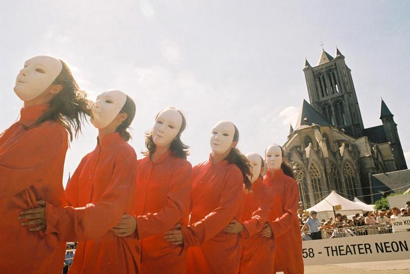 Sint-Baafsplein, 2004.