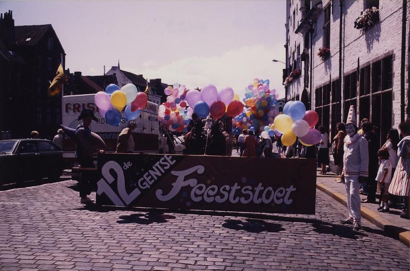 Openingsstoet, Huis van Alijn, 1985.