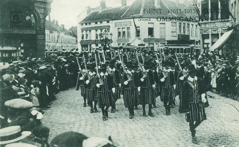 Sint-Michiels Ommeganck 1613-1913, 1913.